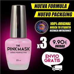 The Pink Mask - Ongles Parfaits Pack x 3