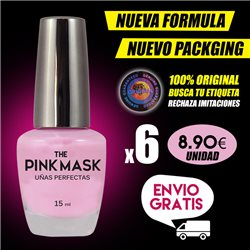 The Pink Mask - Uñas Perfectas Pack x 6