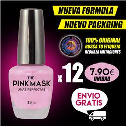 The Pink Mask - Ongles Parfaits Pack x 12