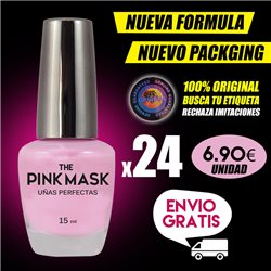 The Pink Mask - Uñas Perfectas Pack x 24