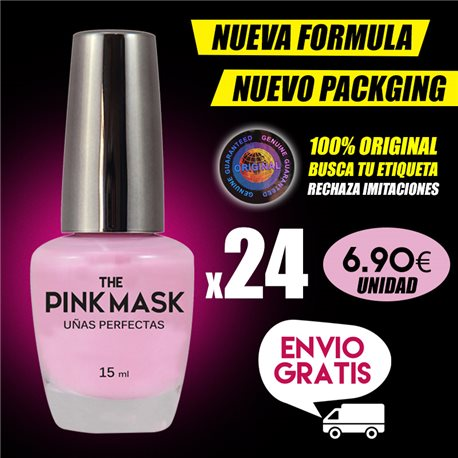 The Pink Mask - Perfekte Nägel Pack x 24
