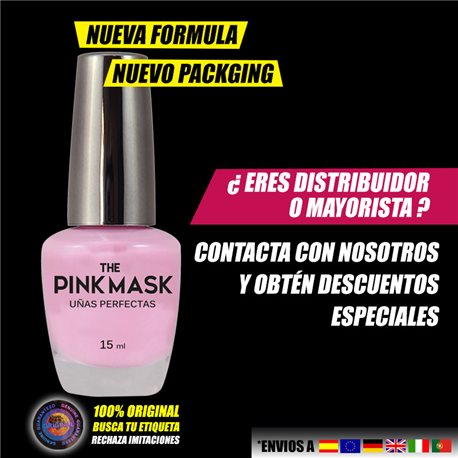 The Pink Mask - Perfect nails Pack x 24