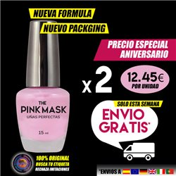 The Pink Mask - Uñas Perfectas Pack x 2