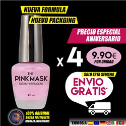 The Pink Mask - Uñas Perfectas Pack x 4