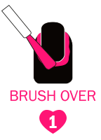 Step 1 - Brush over
